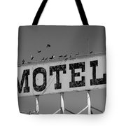 Motel For The Birds Tote Bag
