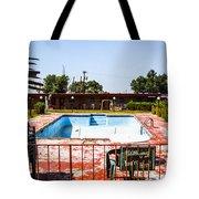 Motel Pool 3 Tote Bag