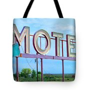 Motel Sign - Arrow Tote Bag