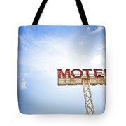 Motel Sign Tote Bag