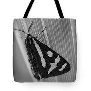 Moth Bw Macro Tote Bag