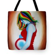 Mother - Life Within Life Tote Bag