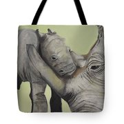 Mother And Baby 1 Tote Bag