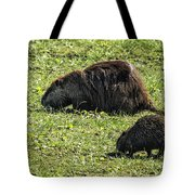 Mother And Child - Coypu - Nutria Tote Bag
