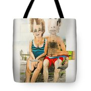 Mother And Father Tote Bag