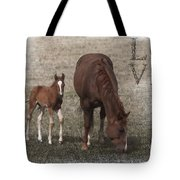 Mother And Son Love Tote Bag