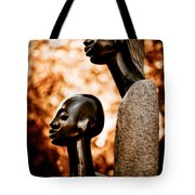 Mother And Son Tote Bag