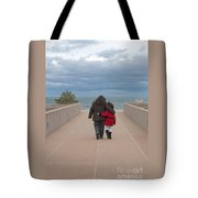 Mother Daughter Moment Tote Bag