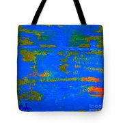 Mother Earth 1 Abstract Tote Bag