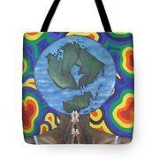 Mother Earth The Beginning Of Time Tote Bag