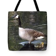 Mother Goose Is Watching Tote Bag