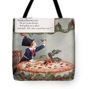 Mother Goose: Jack Horner Tote Bag