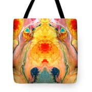 Mother Nature - Abstract Goddess Art By Sharon Cummings Tote Bag