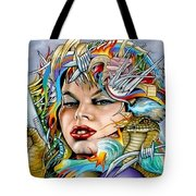 Mother Nature's Dark Side Tote Bag