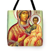 Mother Of Jesus Tote Bag