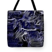 Motherboard - Printed Circuit Tote Bag