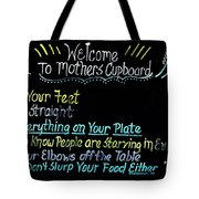 Mother's Cupboard Tote Bag