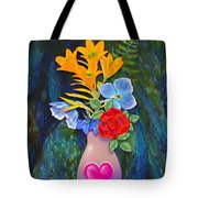 Mothers Day Bouquet Tote Bag