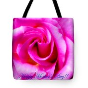 Mother's Day Rose Tote Bag