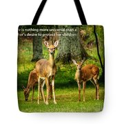 Mother's Protection Tote Bag