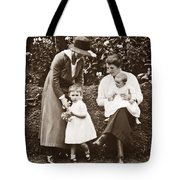 Mothers With Children Tote Bag
