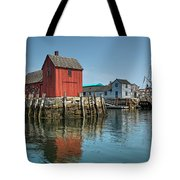 Motif #1 And The Pirate Ship Formidable Tote Bag