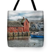 Motif #1 Watches Over The Amie V1 Tote Bag