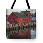 Motifs Long Reflection Tote Bag