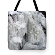 Motion Frozen In Ice Tote Bag