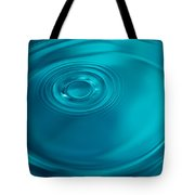 Motion On Water Surface Tote Bag
