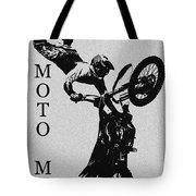 Moto Man Tote Bag