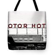 Motor Hotel Tote Bag
