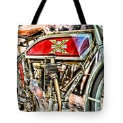 Motorcycle - 1914 Excelsior Auto Cycle Tote Bag