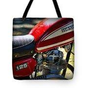 Motorcycle - 1974 Honda Cl 125 Scrambler Tote Bag
