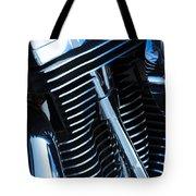 Motorcycle Engine Tote Bag