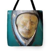 Motorcycle Medalion Tote Bag