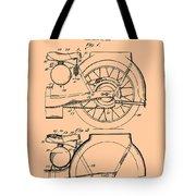Motorcycle Patent 1925 Tote Bag