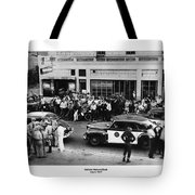 Motorcycle Rally Hollister California July 4, 1947 Tote Bag