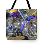 Motorcycle Without Blue Frame Tote Bag