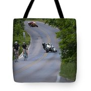 Motorcycles And Bicycles Tote Bag
