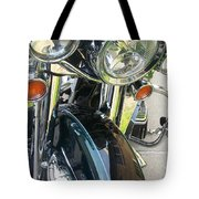 Motorcyle Classic Headlight Tote Bag