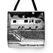 Motorhome Viagra Moonlight R V Camping Tote Bag