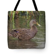 Mottled Duck Drake Tote Bag