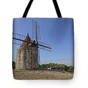 Moulin De Daudet Fontvieille France Dsc01833 Tote Bag