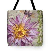 Moulin Floral 1 Tote Bag by Debbie DeWitt