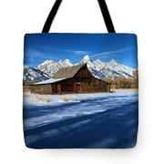 Moulton Barn Landscape Tote Bag