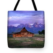 Moulton Barn Sunrise Tote Bag