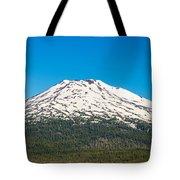 Mount Bachelor Closeup Tote Bag
