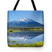 Mount Bachelor Reflection Tote Bag