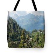 Mount Baker Area Washington Tote Bag